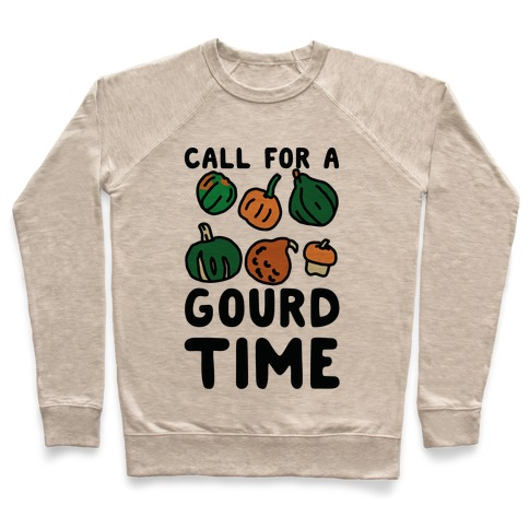 Call for a Gourd Time Pullover