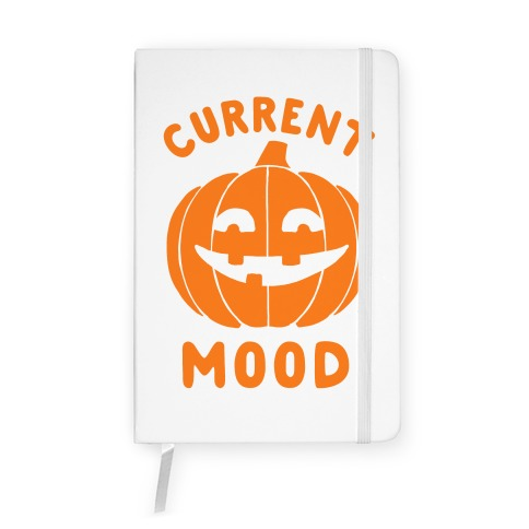 Current Mood: Halloween Notebook