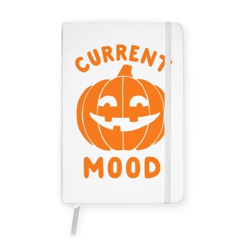 Current Mood: Halloween Notebook