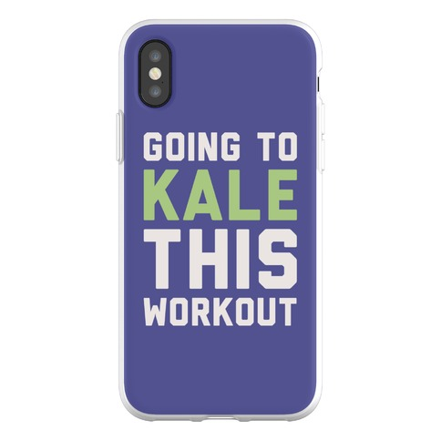 Going To Kale This Workout Phone Flexi-Case