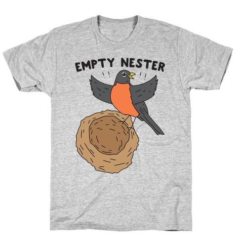 Empty Nester Happy Robin T-Shirt