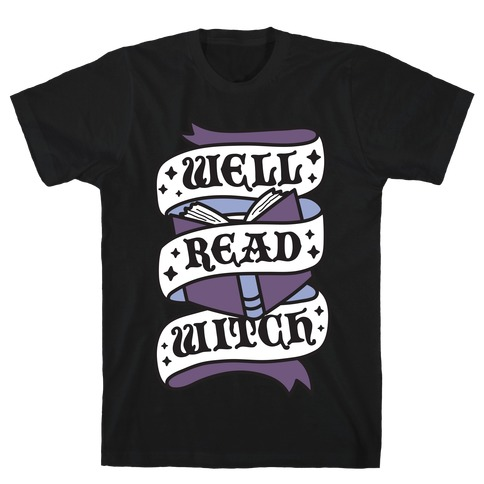 Well Read Witch T-Shirt