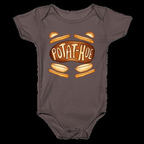 Potat-Hoe Baby One-Piece