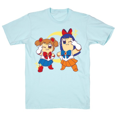 Pretty Sailor Pop Team Epic  Mens T-Shirt