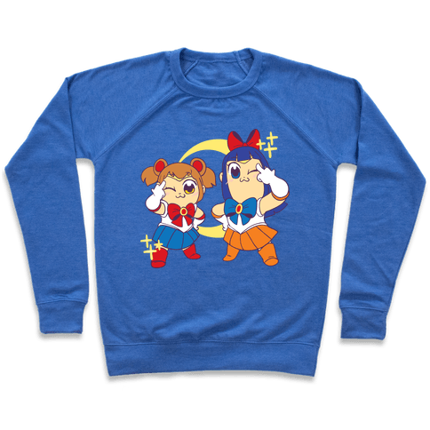 Pretty Sailor Pop Team Epic  Pullover