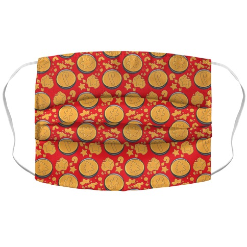 Holiday Honeycomb Candy Challenge Parody Accordion Face Mask