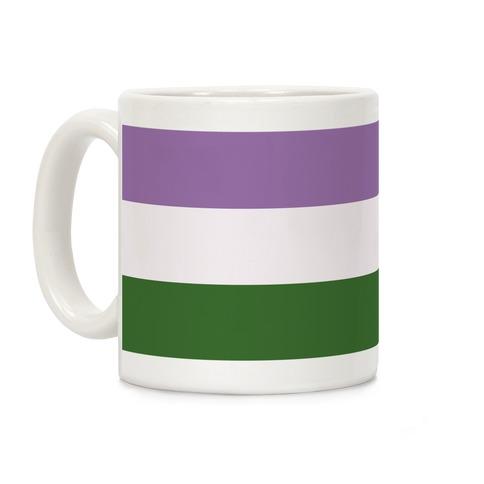 Gender Queer Pride Flag Coffee Mug