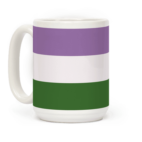 Gender Queer Pride Flag Coffee Mug