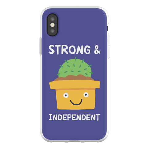 Strong And Independent Cactus Phone Flexi-Case