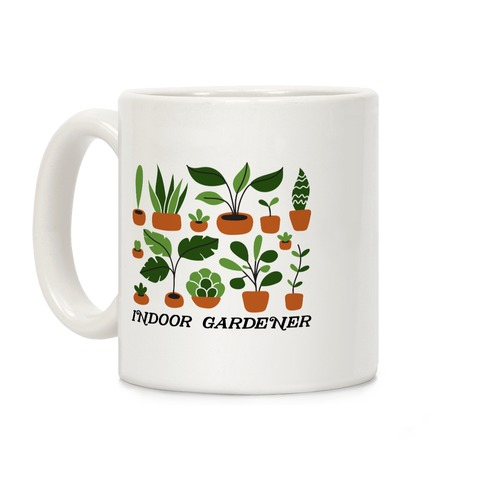 Indoor Gardener Coffee Mug