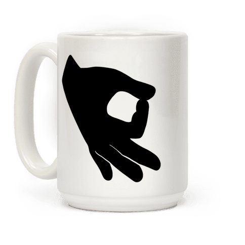 Finger Circle  Coffee Mug