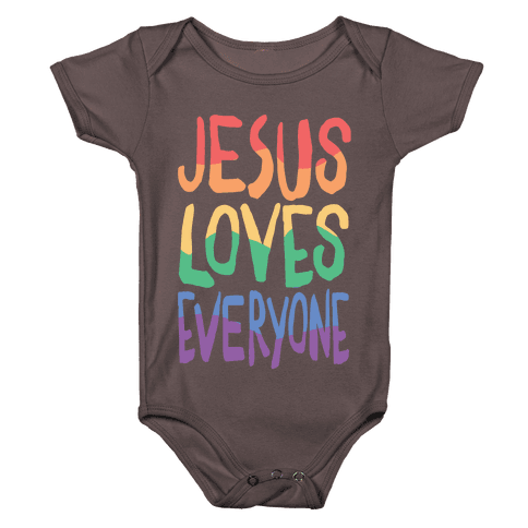 Jesus Loves Everyone Baby One-Piece