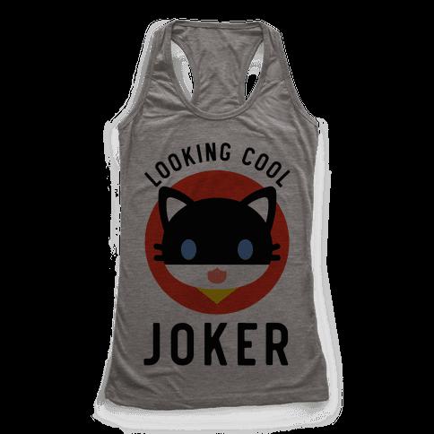 Looking Cool Joker Racerback Tank Top