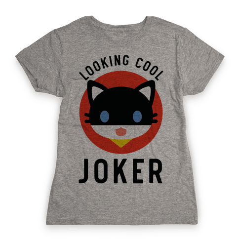 Looking Cool Joker Womens T-Shirt