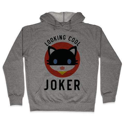Looking Cool Joker Hooded Sweatshirt