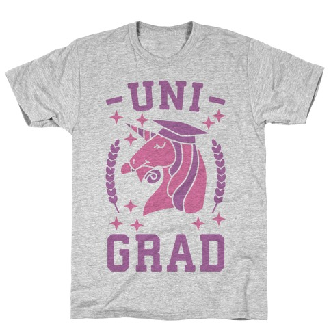 Uni Grad - Unicorn T-Shirt