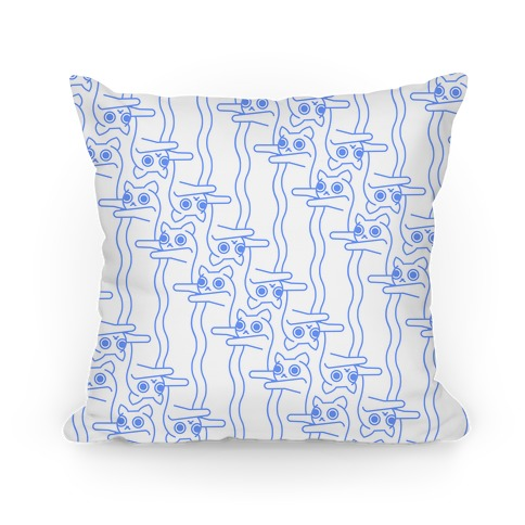 Long Cat Pattern Pillow