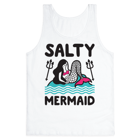 Salty Mermaid Tank Top