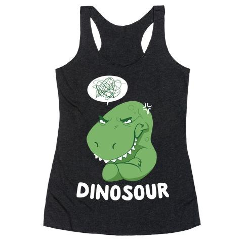 Dinosour Racerback Tank Top