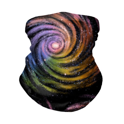 Galactic Rainbows Neck Gaiter