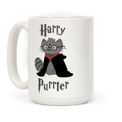 Harry Purrter Coffee Mug
