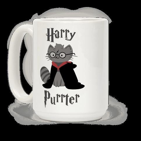 Harry Purrter Coffee Mug