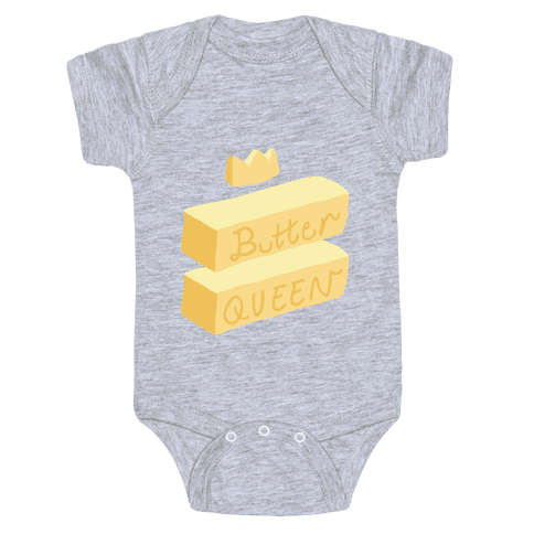 Butter Queen Baby Onesy