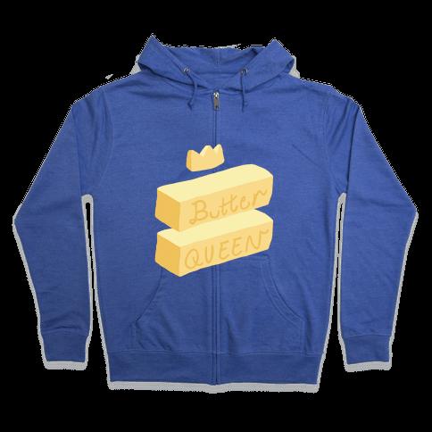 Butter Queen Zip Hoodie