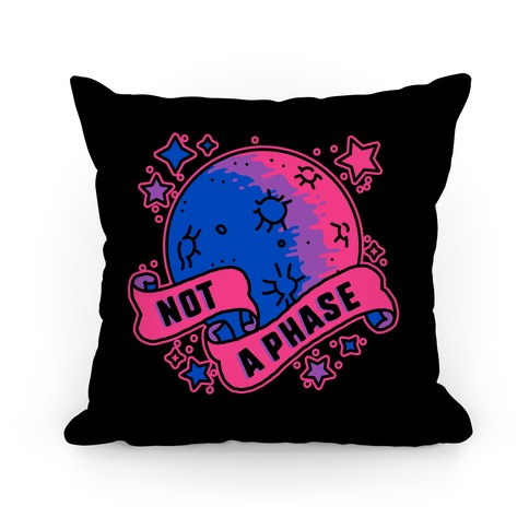 Not a Phase Bi Moon Pillow