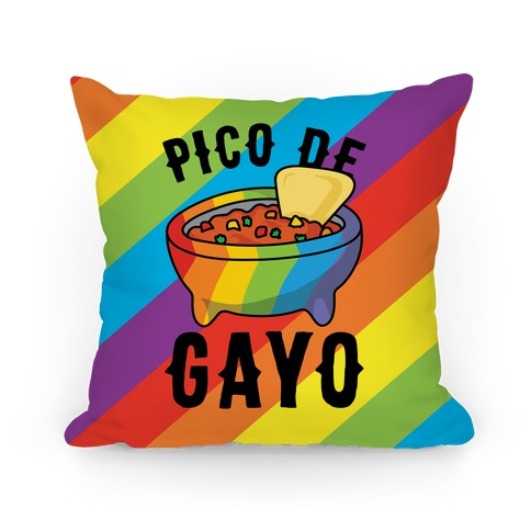 Pico De Gayo Pillow