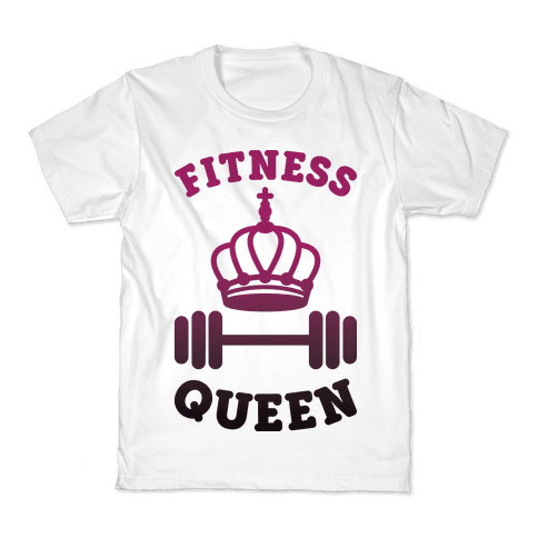 Fitness Queen  Kids T-Shirt