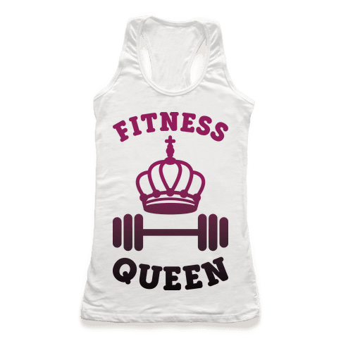 Fitness Queen  Racerback Tank Top