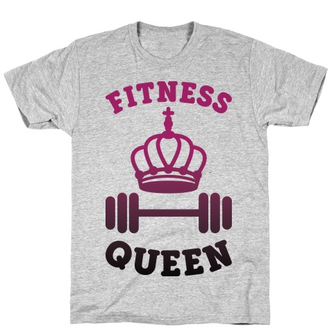 Fitness Queen Mens/Unisex T-Shirt