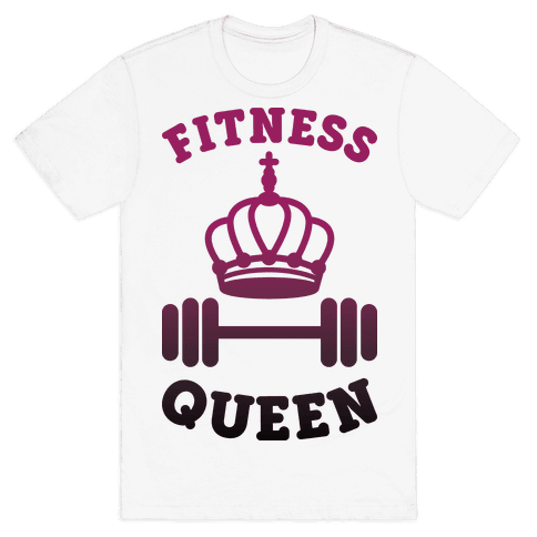 Fitness Queen  Mens T-Shirt