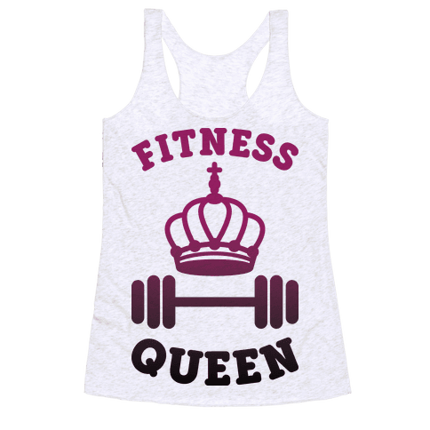 Fitness Queen  Racerback Tank Top