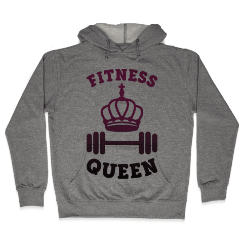 Fitness Queen  Hooded Sweatshirt