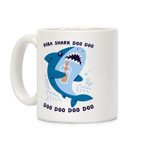 Boba Shark Coffee Mug