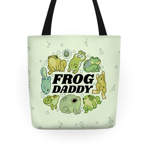 Frog Daddy Tote