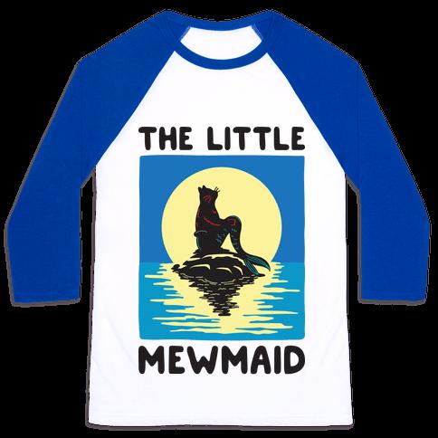 The Little Mewmaid Baseball Tee