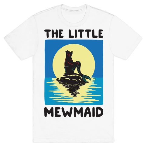The Little Mewmaid Mens T-Shirt