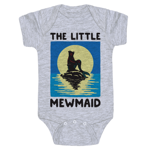 The Little Mewmaid Baby Onesy