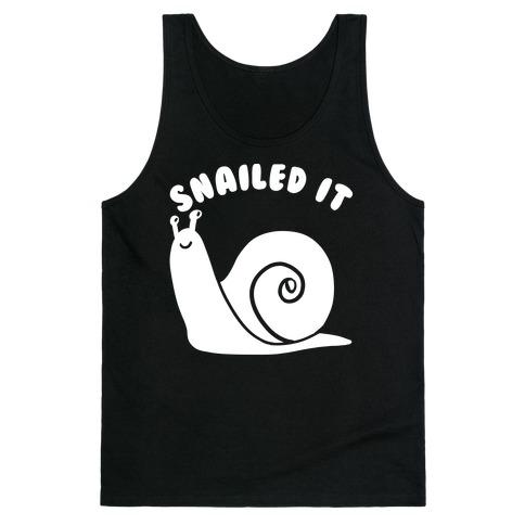 Snailed It Tank Top