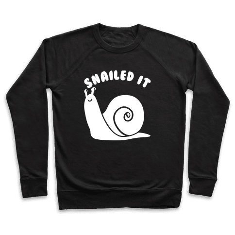 Snailed It Pullover