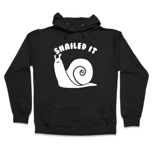Snailed It Hooded Sweatshirt