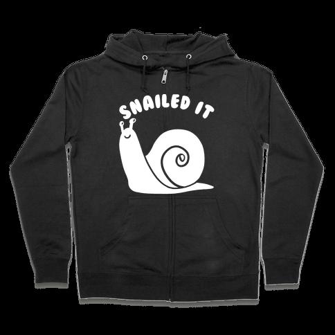 Snailed It Zip Hoodie