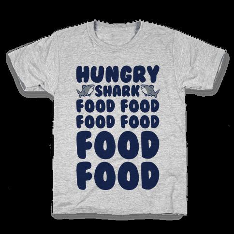 Hungry Shark Baby Shark Parody Kids T-Shirt