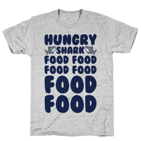 Hungry Shark Baby Shark Parody T-Shirt