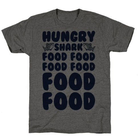 Hungry Shark Baby Shark Parody T-Shirt