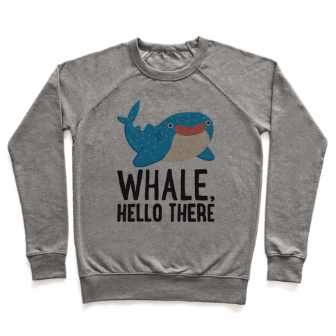 Whale, Hello There Pullover