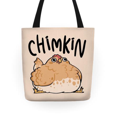 Chimkin Derpy Chicken Tote
